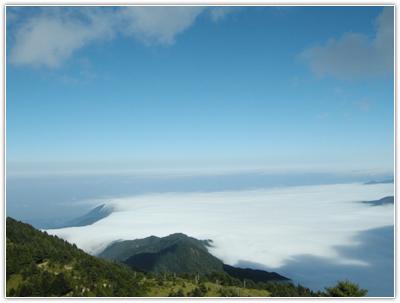 雪霸國家公園雲瀑