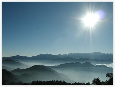 雪霸國家公園朝陽